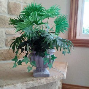 Faux Plant in Urn- Large